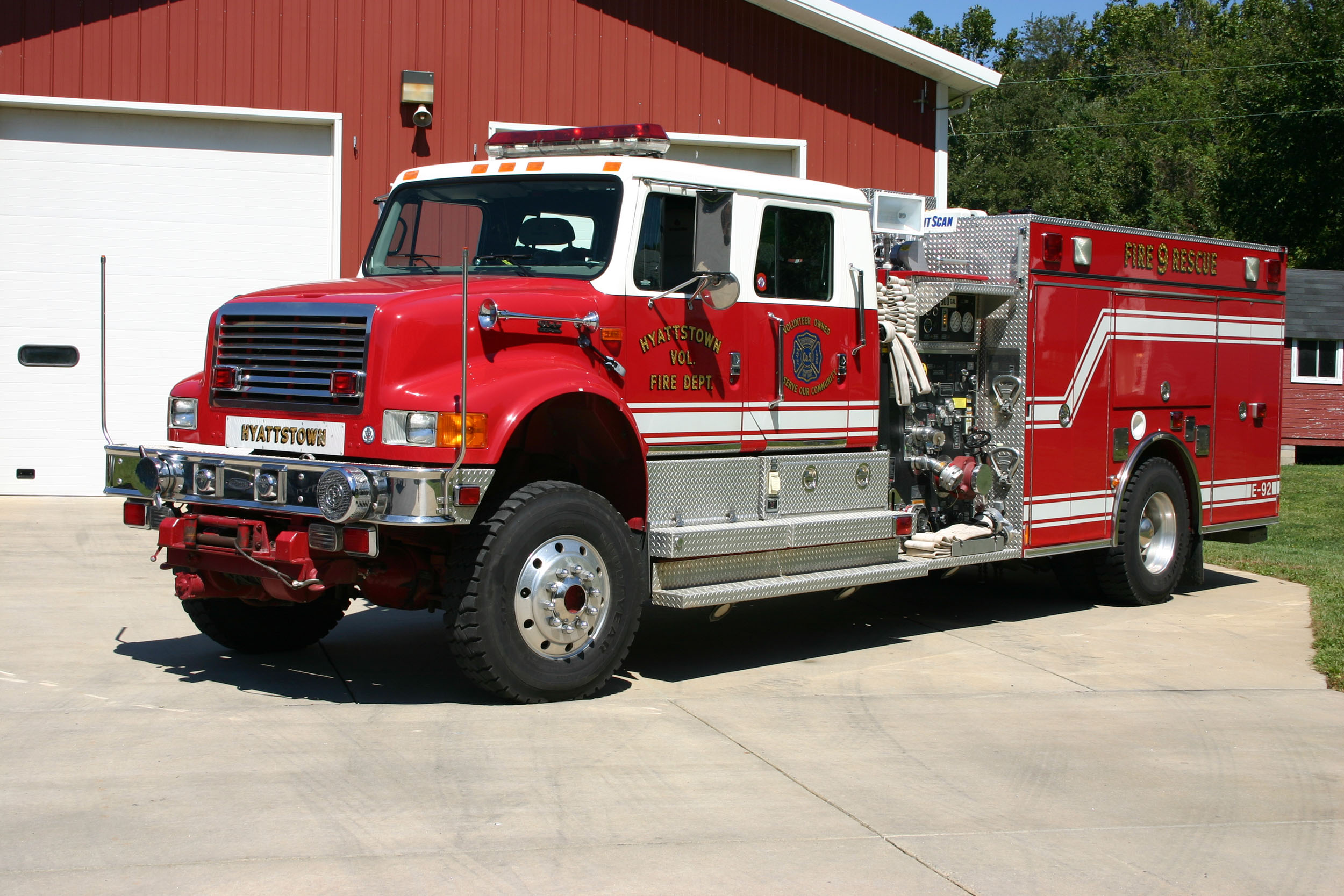 Rescue Engine 709 Bravo