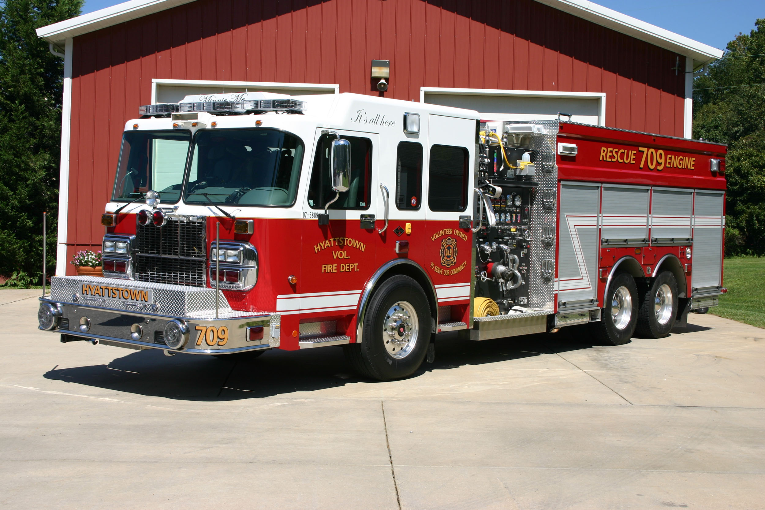 Rescue Engine 709